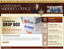 Tablet Preview of caddosheriff.org